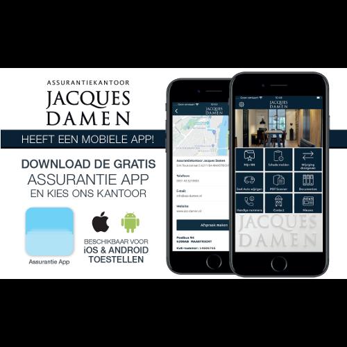 Assurantie App Jacques Damen